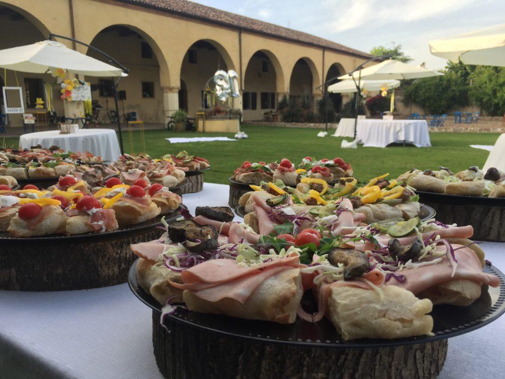 Villa Roberti, Festa privata