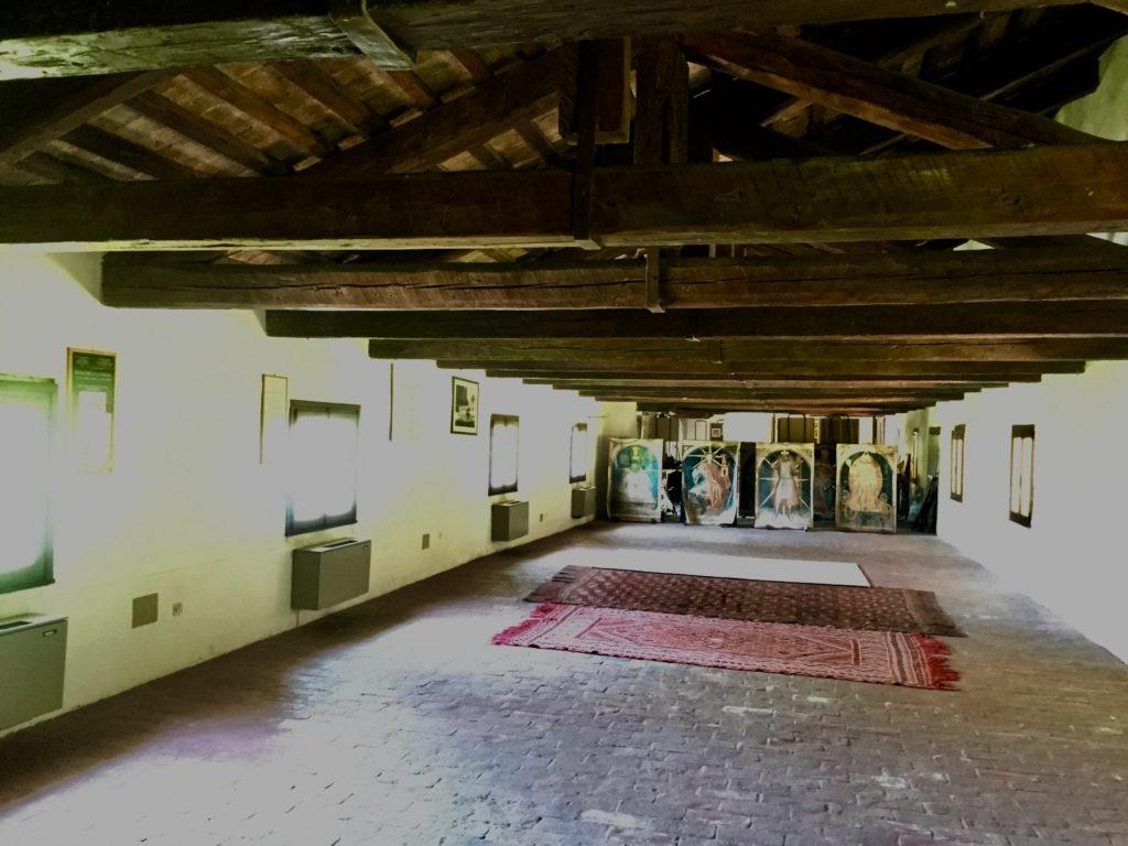 Villa Roberti, Granaio