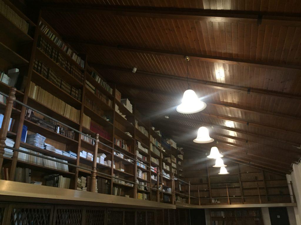 Villa Roberti, Biblioteca